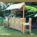 Outdoor Tiki Bar - Bamboo Island Tiki Bar
