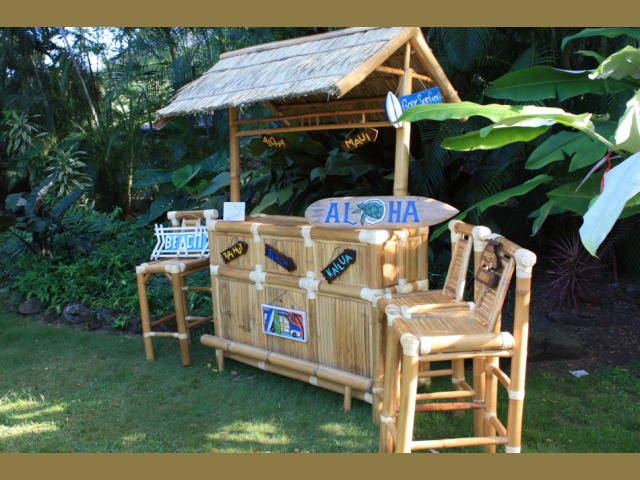 Beachin Outdoor Tiki Bar Outdoor Bar Ideas