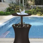 Use Outdoor Bar Accessories For A Personal Touch