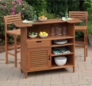 Home Styles Montego Bay Patio Bar Set