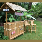 Surfer Girl Tiki Bar - Outdoor Tiki Bar Surf Style
