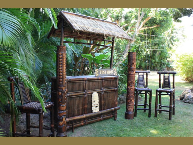Tiki Bar Outdoors : The Big Island Outdoor Tiki Bar  Outdoor Bar Ideas