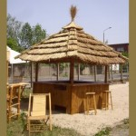 Island Tiki Bar Kiosk – 360 Degree Outdoor Tiki Bar