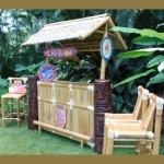 Vintage Hawaiiana Tiki Bar - Bamboo Tiki Bar